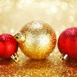colorful christmas balls — Stock Photo #35147239