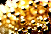Golden stars background — Stock Photo