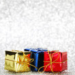 Gift boxes — Stock Photo #36096713