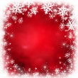 Red christmas background — Photo