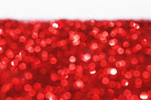 Red glitter background — Stock Photo