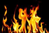 Fuego del infierno — Foto de Stock
