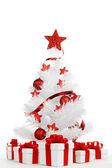 Isolierte Weihnachtsbaum — Stockfoto