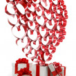 Stock Photo: Valentines day gifts