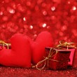 Valentines day gifts — Stock Photo