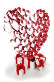 Regali amore — Foto Stock