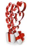 Liefde geschenken — Stockfoto