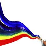 Rainbow paint — Stock Photo #40230195