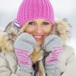 Woman in winter clothes — Stock Photo #40321375