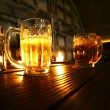 Mugs of beer — Stockfoto #41287763