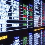 Stock Market board — Stock Photo #41659973