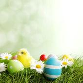 Paskalya tebrik kartı — Stok fotoğraf