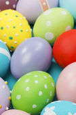 Background with Easter Eggs — Stock Photo