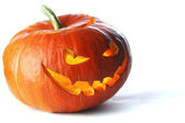 Scary Halloween Pumpkin — Stockfoto