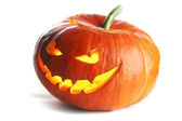 Scary Halloween Pumpkin — Stock Photo