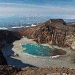 Gorely (Burnt) volcano. Kamchatka Peninsula (Russia) — Stock Photo