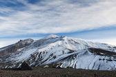Mountain landscape: Avachunsky Volcano - an active volcano. Kamchatka — Stock Photo