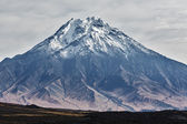 Landscape of Kamchatka: Bolshaya Udina Volcano — Stock Photo