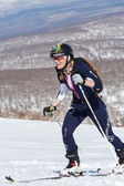 """Ski mountaineering Asian Championships, Russian Championship, Kamchatka Championship, International competitions ISMF series """"Kamchatka Race"""" — Stock Photo"""