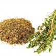 Stock Photo: Natural Remedy Thyme.