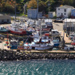 Dock for Fishing boats in Harbor of St. John's Newfoundland. — Stock Photo