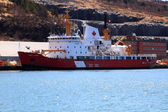 CCGS Henry Larsen ready for rescue operations — Zdjęcie stockowe
