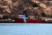 CCGS Alfred Needler ready for rescue operations — 图库照片