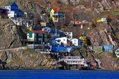 Houses of St.Johns Newfoundland — Stock Photo