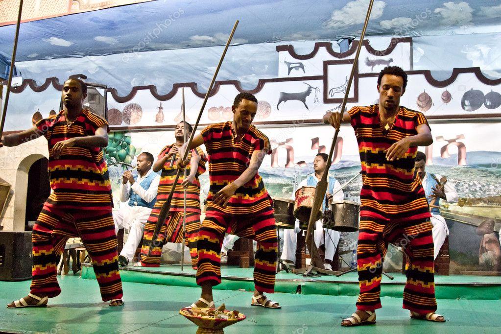 Ethiopian Cultural Dance Stock Editorial Photo C Derejeb 11982293