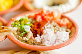 Ethiopian style Ful medames — Stock Photo