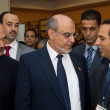 Royalty-Free Stock Photo: Head of the Tunisian Government at the inauguration of the ICT4A