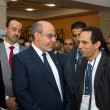 Head of the Tunisian Government at the inauguration of the ICT4A — Stock Photo #13321358