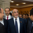 Head of the Tunisian Government at the inauguration of the ICT4A — Stock Photo