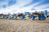 Beach in Hammamet, Tunisia — Stock Photo