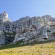 Stock Photo: Table Mountain gondola