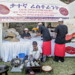 2012 Taste of Addis food festival — Stock Photo