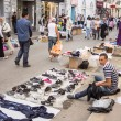 Street market in Tunis - Stock Photo