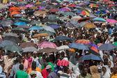 Timket Celebrations in Ethiopia — Stock Photo