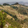 Stock Photo: Hilly landscapes of Ethiopia
