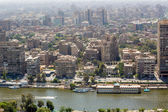 Vista aérea do cairo — Foto Stock