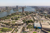 Aerial view of Cairo — Stock Photo