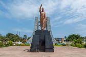 Kwame Nkrumah Statue — Stock Photo