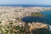 Aerial view of Dakar — Stock fotografie