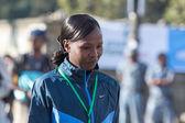 2013 NY Marathon winner Priscah Jeptoo — Stock Photo