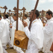 Stock Photo: 2014 Timket Celebrations in Ethiopia