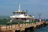 Ferry to Goree Island — Stockfoto