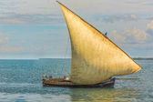 インド洋の古い帆船 — ストック写真
