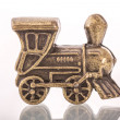 Stock Photo: Train token