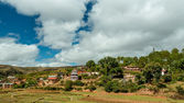 Malagasy homes — Stock Photo