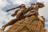 African Renaissance Monument — Stock Photo